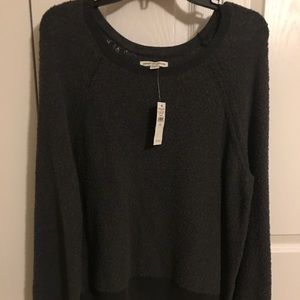 American Eagle sweatshirt.